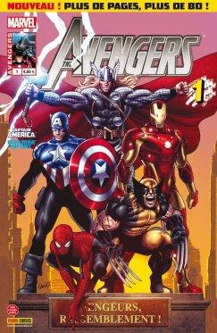 Avengers vol 2 # 01