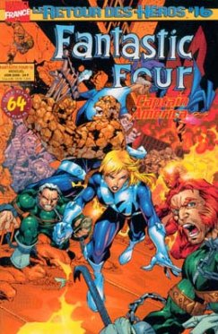Fantastic Four vol 2 # 16