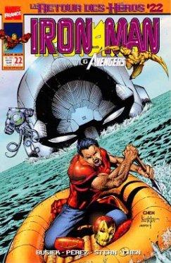 Iron Man vol 2 # 22