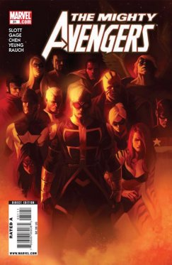 Mighty Avengers # 31