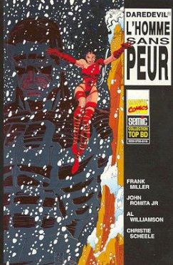 Top BD : Daredevil l'Homme sans peur 01 et 02