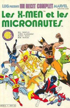 Recit Complet Marvel : X-Men et les Micronautes