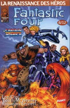 Fantastic Four vol 1 # 08