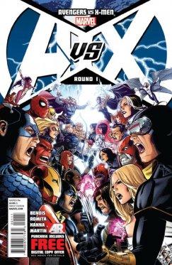 Avengers vs X-Men # 01