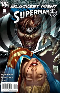 Blackest Night : Superman # 2