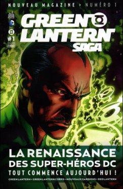 Green Lantern Saga # 01