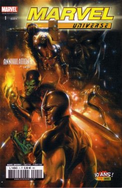 Marvel Universe # 01
