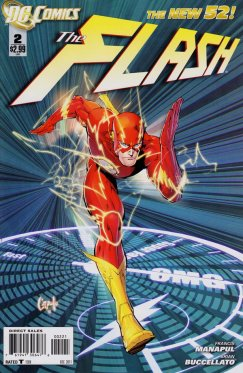 The Flash vol 4 # 02 variant