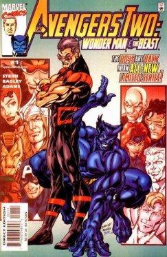 Avengers Two : Wonder Man Beast # 01-03