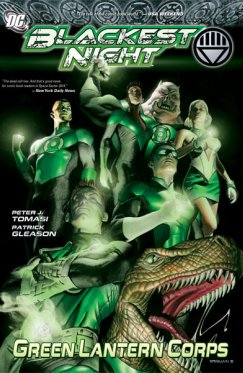 Blackest Night : Green Lantern Corps