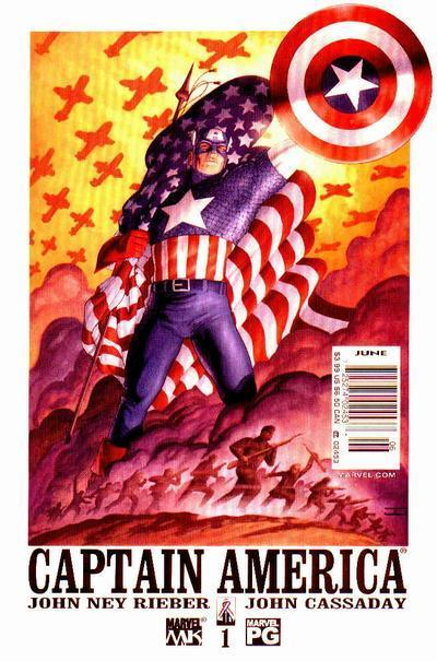 Captain America vol 4 # 01