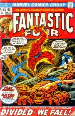 Fantastic Four vol 1 # 128
