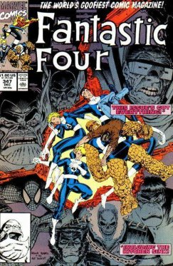 Fantastic Four vol 1 # 347