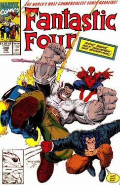 Fantastic Four vol 1 # 348