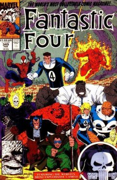 Fantastic Four vol 1 # 349