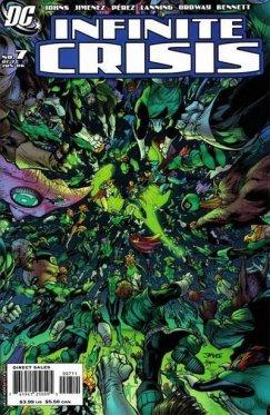 Infinite Crisis # 07 Variant