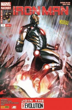 Iron Man vol 2 # 01