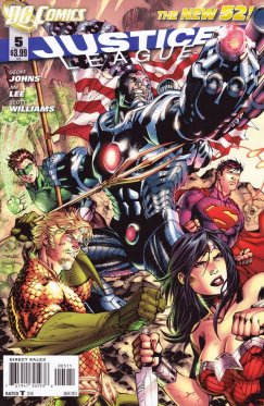 Justice League vol 2 # 05