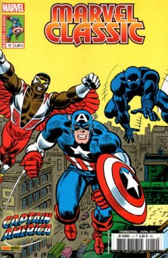 Marvel Classic vol 1 # 14 : Captain America