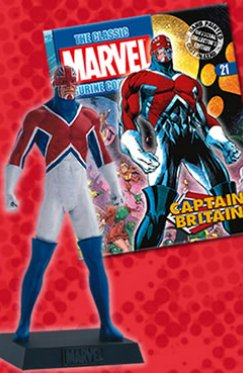 Marvel Super Heroes 021 : Captain Britain