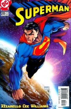 Superman # 205 Variant