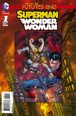 Futures End : Superman Wonder Woman # 1