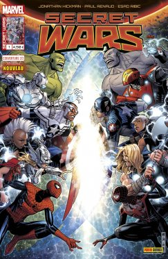 Secret Wars # 1 variant