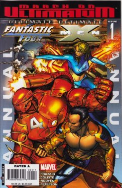 Ultimate Fantastic Four Ultimate X-Men Annual # 1