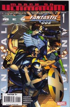 Ultimate X-Men Ultimate Fantastic Four Annual # 1