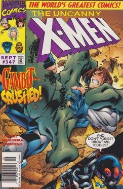 Uncanny X-Men vol 1 # 347