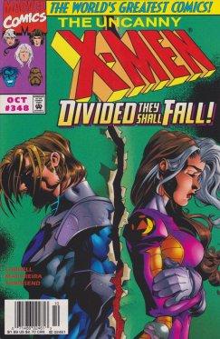 Uncanny X-Men vol 1 # 348