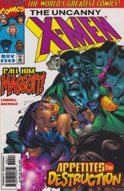 Uncanny X-Men vol 1 # 349