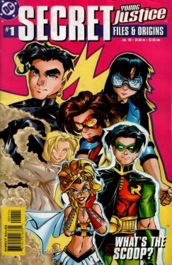 Young Justice Secret Files # 1